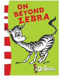 Harper Collins On Beyond Zebra - Dr Seuss