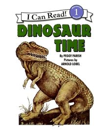 Harper Collins Dinosaur Time - By Peggy Parish