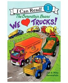 I Can Read Series The Berenstain Bears We Love Trucks