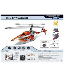 SilverLit Sky Dagger 4Channel Radio Control Gyro Helicopter - 15 Years Plus