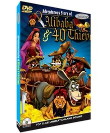 Interlude Technologies Adventurous Story Of Alibaba And 40 Thieves DVD - English