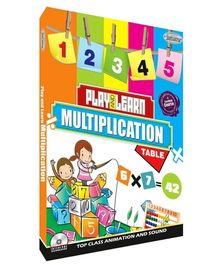 Interlude Technologies Play And Learn Multiplication Tables English - DVD
