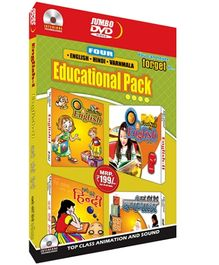 Future Books 4 In 1 Educational Pack - DVD