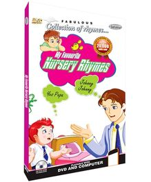 Future Books My Favourite Nursery Rhymes - DVD