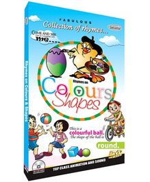 Future Books Rhymes on Colour And Shapes - DVD