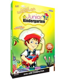 Future Books A Good Interactive Disk Junior Kindergarten - DVD