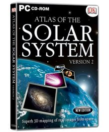 Interlude Technologies Atlas Of The Solar System Version 2 - PC CD ROM
