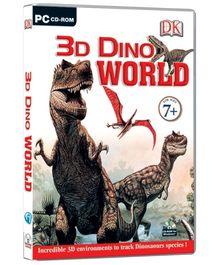 Future Books 3D Dino World - PC CD ROM