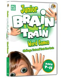 Interlude Technologies Junior Brain Train Word Games - PC CD
