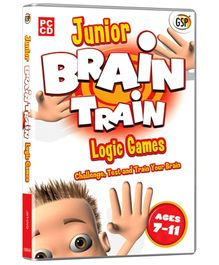 Interlude Technologies Junior Brain Train Logic Games - PC CD