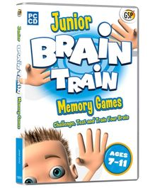 Interlude Technologies Junior Brain Train Memory Games - PC CD