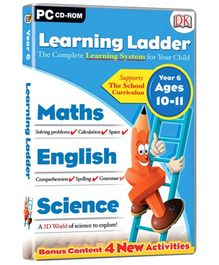 Interlude Technologies Learning Ladder Year 6 - PC CD ROM