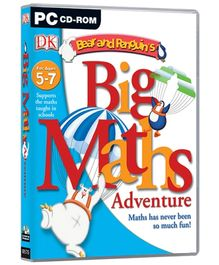 Future Books Bear And Penguins Big Maths Adventure - PC CD ROM