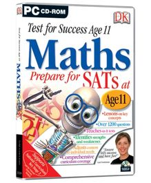 Future Books Test for Success Age 11 Maths - PC CD ROM