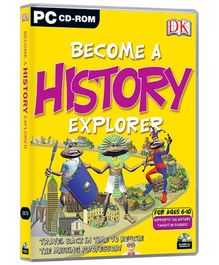 Future Books Become A History Explorer - PC CD ROM