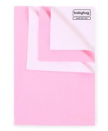 Babyhug Smart Dry Bed Protecting Sheet Pink - Extra Large