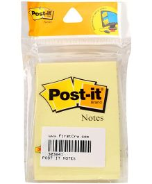 Post It Canary Yellow Notes - 100 Sheets