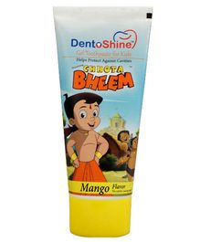 Dentoshine Chhota Bheem Gel Toothpaste For Kids - Mango Flavour