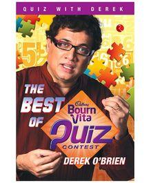 Rupa Publications The Best Of Bournvita Quiz Contest - Derek O Brien