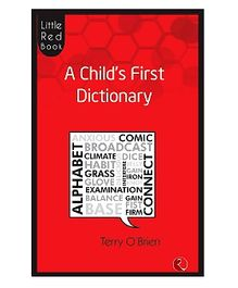 Rupa Publications Little Red Book A Childs First Dictionary - Terry O Brien