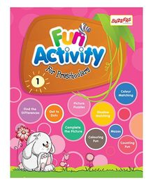 Buzzers Fun Activity Book for Preschoolers Volume 1 - English