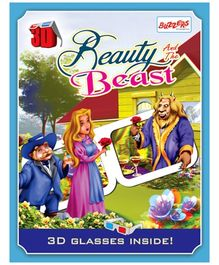 Buzzers Beauty and the Beast 3D Book - English
