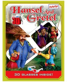 Buzzers Hansel and Gretel 3D Book - English