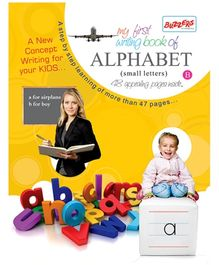 Buzzers My First Writing Book Alphabet Small Letters