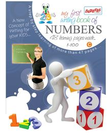 Buzzers My First Writing Book Numbers 1 - 100