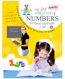 Buzzers My First Writing Book - Numbers 1 - 50