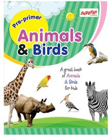 Buzzers Pre Primer Animals And Birds - English