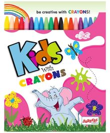 Buzzers Kids With Crayons 4 - English