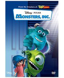 Sony DADC Disney Monsters Inc English DVD
