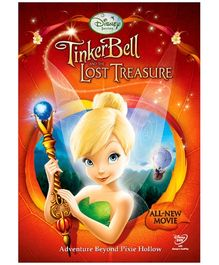 Sony Tinkerbell and Lost Treasure DVD
