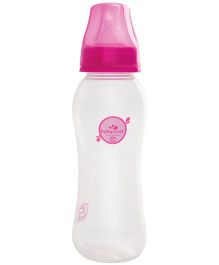 Baby Coo's Pink Feeding Bottle - 225 ML