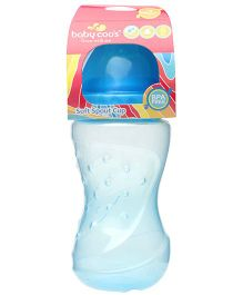 Baby Coos Grippy Blue Non-spill Cup Soft Spout - 250 ml