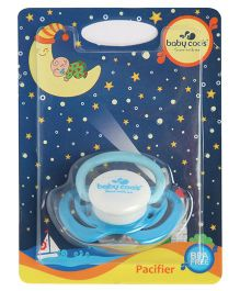 Baby Coo's Bibo Pacifier Blue - Single Piece
