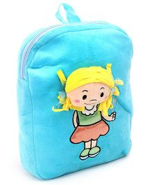 Dimpy Stuff Happy Girl Shoulder Bag - Blue