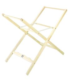 Lollipop Lane Classic Moses Basket Stand - Off White