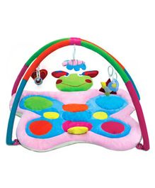 Babyhug Twist N Fold Move N Play Activity Gym Butterfly - Multicolor