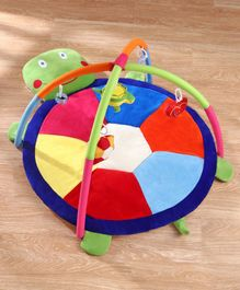 Babyhug Twist N Fold Move N Play Activity Gym Tortoise - Multicolor