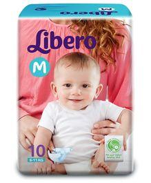 Libero Baby Diaper Medium - 10 Pieces