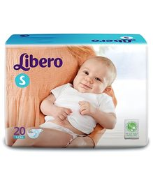 Libero Baby Diaper Small - 20 Pieces