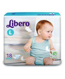 Libero Baby Diaper Large - 18 Pieces