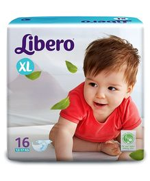 Libero Baby Diaper Extra Large - 16 Pieces
