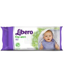 Libero Baby Wet Wipes - 80 Pieces