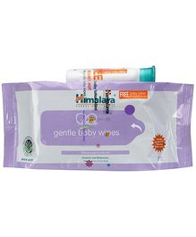 Himalaya Herbal Gentle Baby Wipes - 72 Wipes