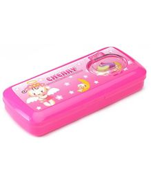 RKs Cherry Pink Pencil Box - 20 x 9 x 3 cm