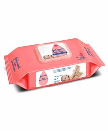 Johnson's baby Skincare Wipes - 80 Pieces