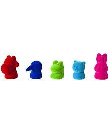 Rubbabu Animal Puppets - Set Of 5